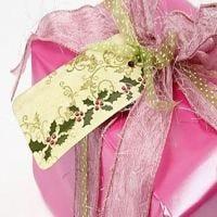 Etiqettes cadeaux avec décoration timbrée de chez Vivi Gade
