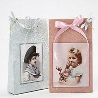 Giftbags made from handmade paper