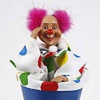A Push-Up Clown