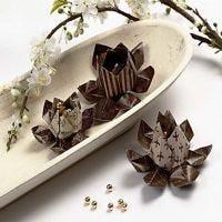 An Origami Flower