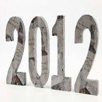 Décorations table du Nouvel An