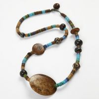 A Necklace with Native Indian Beads