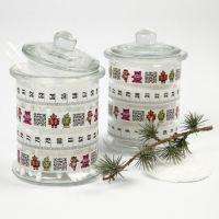 Pots en verre avec Masking Tape