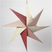 Etoiles origami en papier fait main