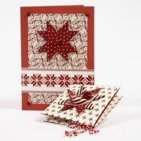Cartes de Noël en papier design Copenhagen