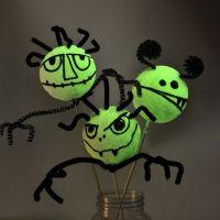 Glow-in-the-Dark Polystyrene Monsters