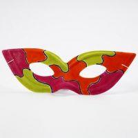 Un masque de Zorro peint