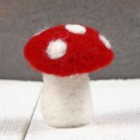 Un champignon feutré