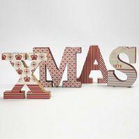 Bougeoirs de Noël peints et avec découpages