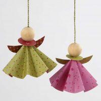 Anges en papier origami de Vivi gade Design