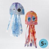 Méduses en imitation tissu