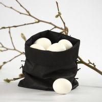 Un sac à oeufs – fait en imitation tissu
