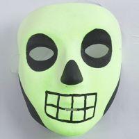 Un masque luminescent pour Halloween