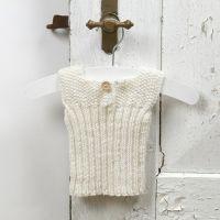 Tricoter pour le bébé - une veste en laine mérinos douce pour bébé