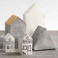 Des maisons coulées dans des moules pliables