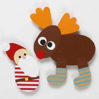 Décorations de Noël en utilisant un modèle flexible