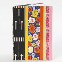 Un couverture de livre faite en ruban ahésif Duct Tape