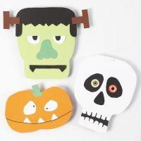 Formes en papier cartonné pour Halloween