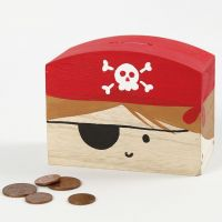 Une tirelire pirate