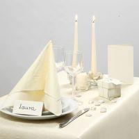 Inspiration pour fêtes avec décoration de table blanche