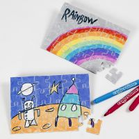 Des puzzles Jigsaw à colorier et à décorer