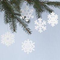 Flocons de neige en perles à repasser Nabbi