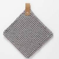 Une manique en fil de coton tubulaire