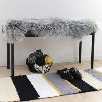 Un tapis fait au crochet