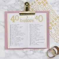 Liste des choses à faire dans un Bullet journal et agenda