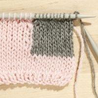 Comment tricoter avec la technique de l'Intarsia