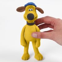 Bitzer de Shaun le Mouton modelé avec les pâtes Silk Clay et Foam Clay