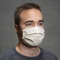 Coudre un masque avec des plis