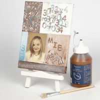 Photo transfer to canvas