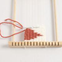 How to weave weft interlocking
